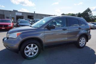 Used 2011 Honda CR-V LX 4WD CERTIFIED 2YR WARRANTY *1 OWNER* ALLOYS CRUISE AUX for sale in Milton, ON