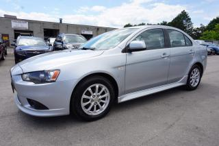 Used 2012 Mitsubishi Lancer SE CERTIFIED 2YR WARRANTY *FREE ACCIDENT* SHIFTERS SUNROOF BLUETOOTH HEATED LEATHER ALLOYS for sale in Milton, ON