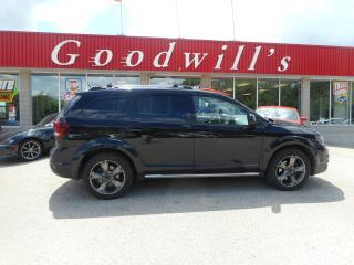 Used 2015 Dodge Journey CROSSROAD! CLEAN CARPROOF! HEATED LEATHER! for sale in Aylmer, ON