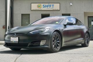 Used 2017 Tesla Model S 75D ENHANCED AUTOPILOT, AIR, SATIN BLACK, CARFAX CLEAN! for sale in Burlington, ON