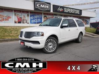 Used 2015 Lincoln Navigator L  P/BOARDS 7-PASS NAV ROOF P/GATE for sale in St. Catharines, ON
