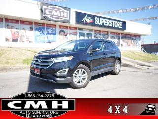 Used 2017 Ford Edge SEL  AWD NAV CAM P/SEATS HS BT for sale in St. Catharines, ON