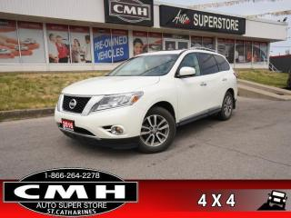 Used 2016 Nissan Pathfinder SL  4WD NAV PANO LEATH CAM for sale in St. Catharines, ON