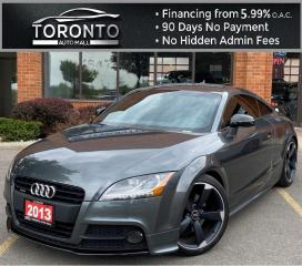 Used 2013 Audi TT 2.0T Coupe quattro S tronic S-Line NAVI Leather Bluetooth Bose Soundsystem for sale in North York, ON