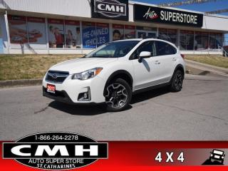 Used 2017 Subaru XV Crosstrek Touring  AWD REAR-CAM HTD-STS BT for sale in St. Catharines, ON