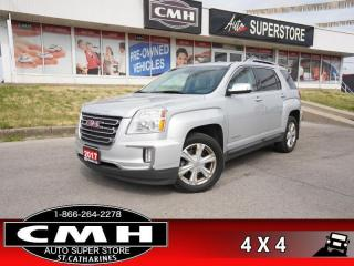 Used 2017 GMC Terrain SLT  AWD LEATH NAV P/SEATS CAM HS BT V6 for sale in St. Catharines, ON