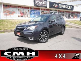 Used 2017 Subaru Forester 2.0XT Limited w/Tech Pkg  LEATH NAV ROOF P/SEAT for sale in St. Catharines, ON
