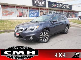 Used 2016 Subaru Outback 3.6R  ADAP-CC LD LEATH NAV ROOF CAM P/GATE for sale in St. Catharines, ON