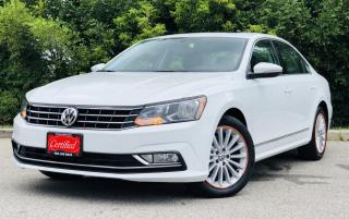 Used 2016 Volkswagen Passat SE |TEXT.US.|647.678.7778| LEATHER|SUNROOF|REARVIEW| CLEANCARFAX| REMOTE STARTER| for sale in Mississauga, ON