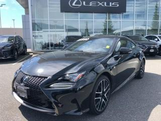 Used 2018 Lexus RC 350 AWD 6A / Special Black Edition, LOW KM, ONE Owner for sale in North Vancouver, BC