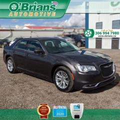 Used 2019 Chrysler 300 300 Touring - Accident Free! w/Mfg Warranty, Leather, Nav, Heated Seats, Command Start for sale in Saskatoon, SK