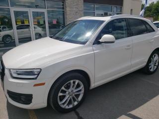 Used 2015 Audi Q3 2.0T Technik for sale in Trenton, ON