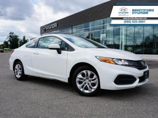 Used 2015 Honda Civic COUPE LOW KM | 1 OWNER | BACK UP CAM  - $93 B/W for sale in Brantford, ON