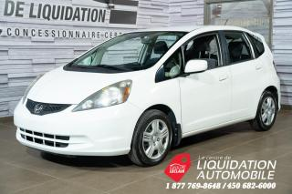 Used 2014 Honda Fit LX GR,ÉLECT+A/C for sale in Laval, QC
