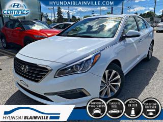 Used 2016 Hyundai Sonata GLS, SE, CUIR, TOIT, MAGS, BLUETOOTH for sale in Blainville, QC