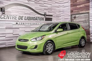 Used 2013 Hyundai Accent GL GR,ÉLECT+A/C for sale in Laval, QC