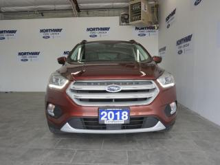 Used 2018 Ford Escape SEL | LEATHER | PANO ROOF | NAV | REAR CAM |36K for sale in Brantford, ON