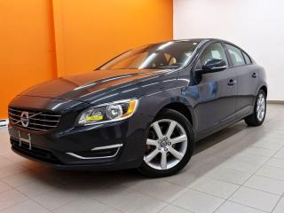Used 2018 Volvo S60 T5 AWD *NAV* SIEGES CHAUF *ALERTES SECURITE* PROMO for sale in St-Jérôme, QC