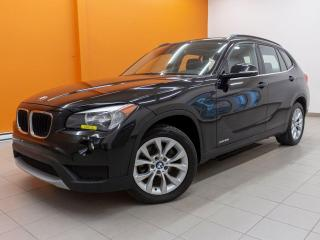 Used 2014 BMW X1 XDRIVE28I SIÈGES / VOLANT CHAUFF CUIR *TOIT PANO* for sale in St-Jérôme, QC