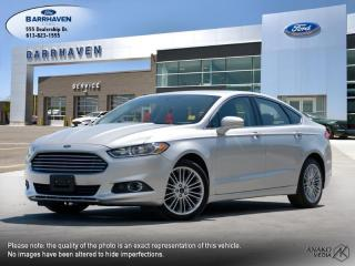 Used 2016 Ford Fusion SE for sale in Ottawa, ON