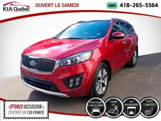 Used 2016 Kia Sorento SX* TURBO* AWD* GPS* TOIT PANO* CUIR* for sale in Québec, QC