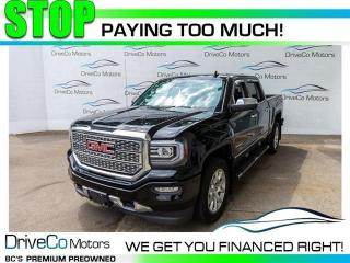 Used 2018 GMC Sierra 1500 Denali  DENALI 1 OWNER NO CLAIMS for sale in Coquitlam, BC