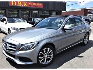 Used 2015 Mercedes-Benz C 300 C 300-4MATIC-NAVIGATION-CAM RECUL-TOIT PANORAMIQUE for sale in Laval, QC