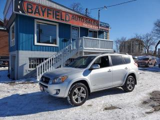 Used 2010 Toyota RAV4 SPORT 4WD **POWER SUNROOF** for sale in Barrie, ON