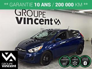 Used 2017 Hyundai Accent GL ** GARANTIE 10 ANS ** Véhicule en demande, faites vite! for sale in Shawinigan, QC
