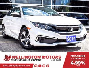 Used 2019 Honda Civic SEDAN LX for sale in Guelph, ON