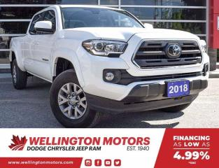 Used 2018 Toyota Tacoma SR5 / Clean CarFax / 1 Owner !! for sale in Guelph, ON
