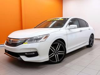 Used 2017 Honda Accord TOURING V6 *NAVI* TOIT *REG ADAPTATIF* WIFI *PROMO for sale in Mirabel, QC
