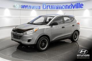 Used 2010 Hyundai Tucson GL + GARANTIE + A/C + MAGS + GR ELECTRIQ for sale in Drummondville, QC