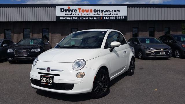 2015 Fiat 500 Pop  **HIGH FUEL ECONOMY**LOW PAYMENTS**