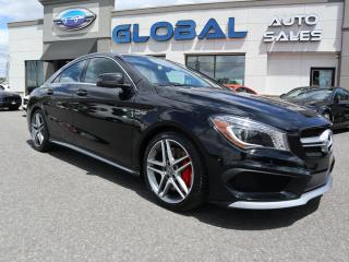 Used 2016 Mercedes-Benz CLA45 AMG 375 HP. AMG CLA 45 for sale in Ottawa, ON