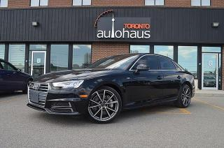 Used 2017 Audi A4 TECHNIK/S-LINE/NAVI/CAM/SUNROOF/BSM/LDW Technik for sale in Concord, ON