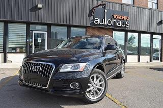 Used 2016 Audi Q5 TECHNIK/NO ACCIDENTS/NAVI/BSM/LEATHER/PANO for sale in Concord, ON