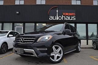 Used 2013 Mercedes-Benz M-Class 350 Bluetech/NAVI/LEATHER/PANORAMA/NO ACCIDENTS ML 350 BlueTEC for sale in Concord, ON