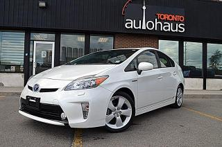 Used 2012 Toyota Prius TECH PKG/LEATHER/NAVIGATION/NO ACCIDENTS for sale in Concord, ON