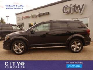 Used 2017 Dodge Journey Crossroad for sale in Medicine Hat, AB