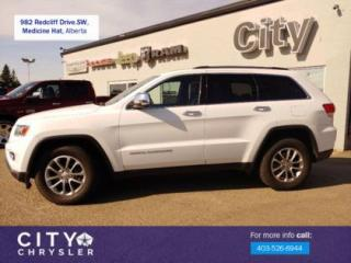 Used 2014 Jeep Grand Cherokee Limited for sale in Medicine Hat, AB
