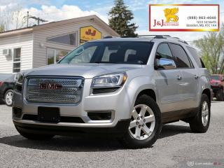 Used 2016 GMC Acadia SLE2 Loaded up ,4WD , C.Start, S/R ,7Pass. for sale in Brandon, MB