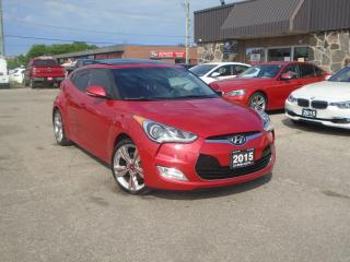 Used 2015 Hyundai Veloster 3dr Cpe Man w/Tech NAVIGATION NO ACCIDENT PANORAMI for sale in Oakville, ON
