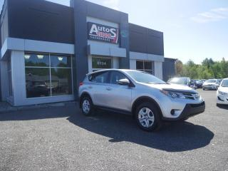 Used 2014 Toyota RAV4 BLUETOOTH + AIR CLIMATISÉ for sale in Sherbrooke, QC