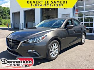 Used 2016 Mazda MAZDA3 GS *JAMAIS ACCIDENTE* for sale in Donnacona, QC