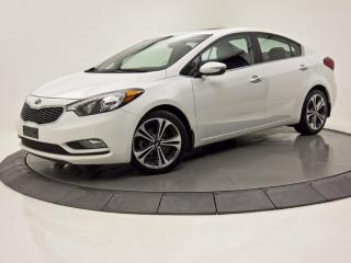 Used 2016 Kia Forte SX CUIR TOIT OUVRANT NAV VOLANT CHAUFFANT for sale in Brossard, QC