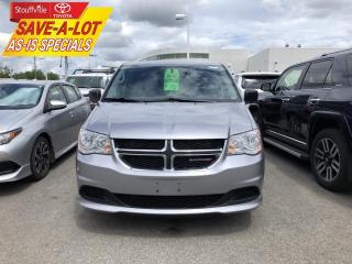 Used 2014 Dodge Grand Caravan SE/SXT AS-IS for sale in Stouffville, ON