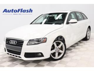 Used 2012 Audi A4 2.0T_Avant Premium *Wagon/Familiale *Quattro for sale in St-Hubert, QC