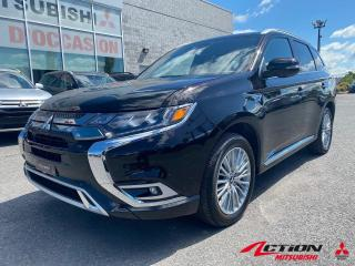 Used 2019 Mitsubishi Outlander Phev GT S-AWC+CUIR+TOIT+CAM 360 +GPS+APPLE/ANDROID for sale in St-Hubert, QC