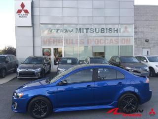 Used 2017 Mitsubishi Lancer SE ANNIVERSAIRE +TOIT+AILERON+MAGS NOIR+A/C+++ for sale in St-Hubert, QC